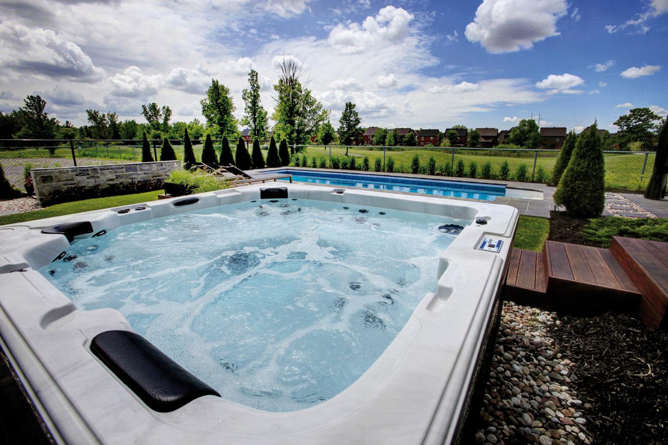 Un spa jacuzzi pour votre bien-être