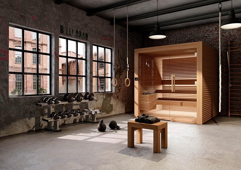 sauna traditionnelle auroom